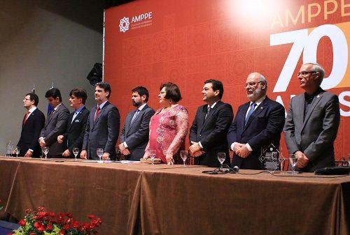 Associação do MP de Pernambuco empossa nova diretoria